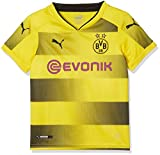 Puma Kinder BVB Kids Home Replica Shirt with Sponsor Logo Fußball T