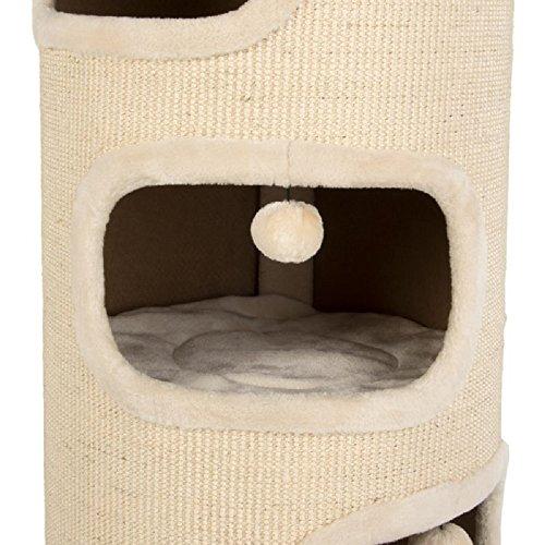 Katzen-Kratztonne, mit 4 Schlafbereichen, Stoffart: Sisal, XXL-Größe - 2