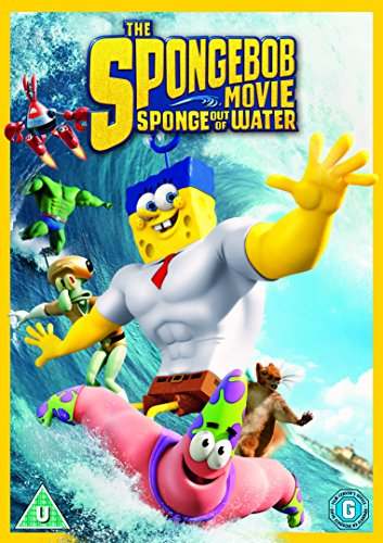 The Spongebob Movie: Sponge Out of Water [DVD] for sale  Delivered anywhere in UK
