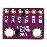 Haljia Gy-bme280–3.3de haute précision I2C SPI Breakout pression barométrique Température Humidité numérique Sensor module pour Arduino Raspberry Pi Arm DIY etc.