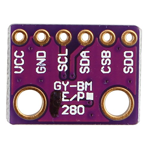 Amazon.co.uk - GY-BME280 High Precision I2C SPI Barometric Pressure Temperature Humidity Sensor Module