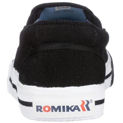 ROMIKA Laser UNISEX Baskets mode-u.Freizeit-Slipper 39 beige (schilf), Baskets mode mixte adulte Noir