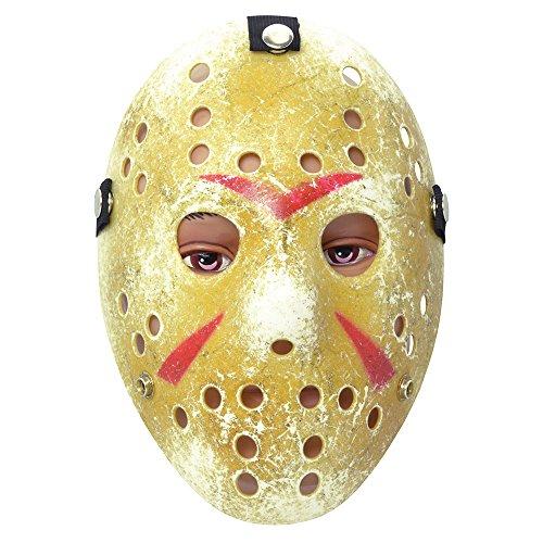HOCKEY MASK PAINTED (Halloween Ideen Hockey)