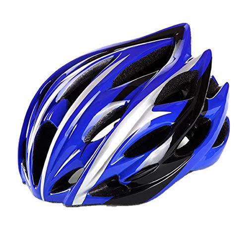OLEEKA Fahrrad-Fahrradhelm Ultraleicht IN-MOULD Road Mountain 22+ Lüftungsschlitze gegen Schock Fahrradhelm