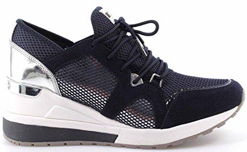 Women's Shoes Sneakers MICHAEL KORS Scout Trainer Mesh 43T7SCFS2D Admiral Blue