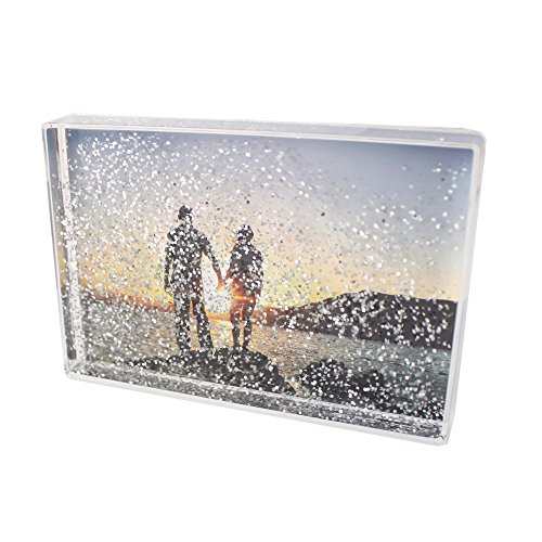 Glitterblox - Marco de fotos con purpurina 6 x 10