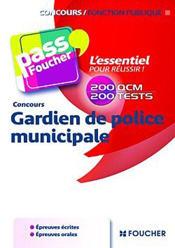 Concours Gardien de police municipale