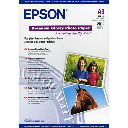 Epson Premium Papier Photo Brillant