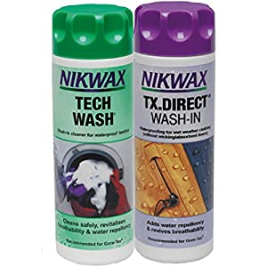 Nikwax Tech waschen und TX Direct Doppel Packung