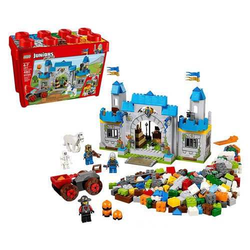 Lego Juniors 10676 Knights Castle Buy Online In Oman Missing
