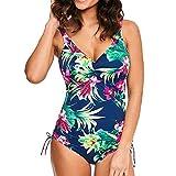 DaySing 2019 Damen Badeanzug Bikini Jumpsuit Push-Up Gepolsterter BH Beach Einteilige Badebekleidung auf Lager