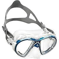 Cressi Air Maschera, Clear/Blu Bianco, Adulto