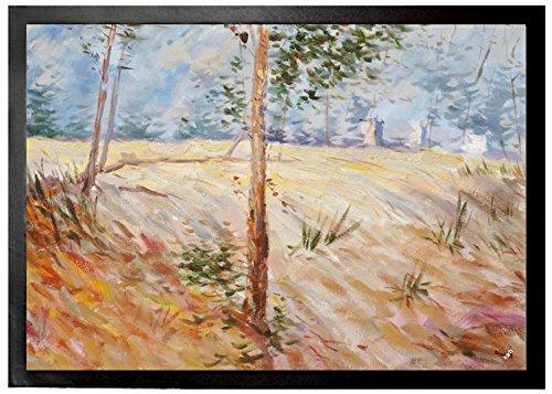 Vincent Van Gogh - Árboles En Un Campo En Un Día Soleado, 1887 Felpu