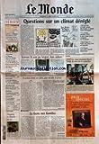 monde le no 17898 du 11 08 2002 series de l ete la nouvelle de tonino benacquista les cobayes des heros en lutte contre eux memes pour changer de vie sur le fleuve congo entre kin et brazza avec les eclopes premier episode de notre voyage au coeur de l afrique vacances des autres en chine sur les plages de qingdao pakistan attentat contre une ong a jalalabad etats unis le sort des detenus de l apres 11 septembre et notre editorial antisemitisme