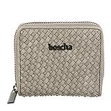 boscha Wallet S/ 2nd Weave Geldbörse, Damen, 11x2x9,5, beige, BO-LP3604SW-120
