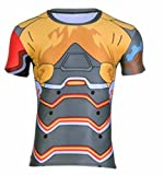 Men's Cosplay Srever Genji Close-Fitting Tee Shirt 65 / XXL
