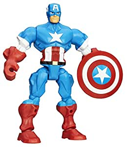 Marvel Avengers Super Hero Mashers Captain America Figure
