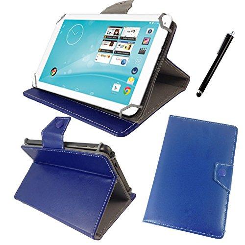 Tasche für Trekstor surftab Breeze 10.1 Quad Tablet PC Hülle mit Standfunktion - 10 Zoll König Blau