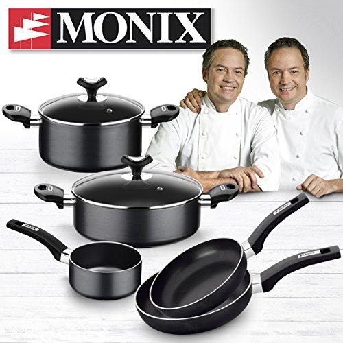 Monix Resistent Plus Batería De Cocina De 5 Piezas