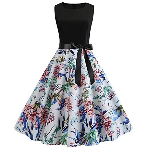 ITISME V Ausschnitt Kleid Damen Spitzenkleid Rückenfreies Kleider Sommerkleider Strandkleider Weiß