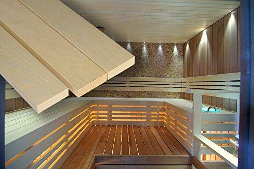 'La Sauna Banco listones sauna selbstbau Espe 28x
