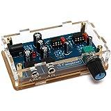WINGONEER HIFI portátil amplificador PCB AMP DIY Kit para clásico 47 DIY con alta calidad de caso