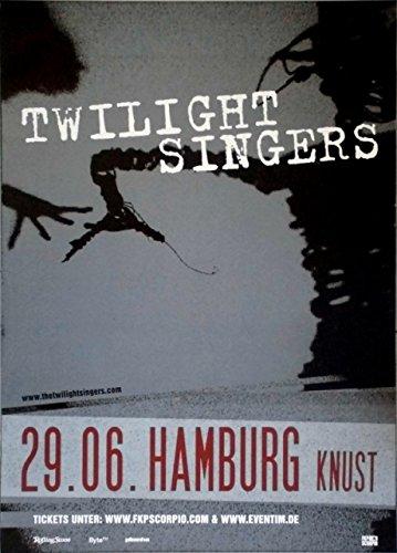 TWILIGHT SINGERS - AFGHAN WHIGS - 2011 - Konzertplakat - Tourposter - Hamburg
