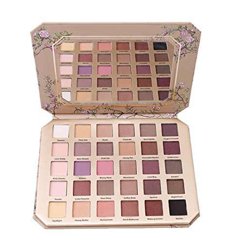 GODHL 30-colour eyeshadow palette, professional eye palette, make-up palette, cosmetics