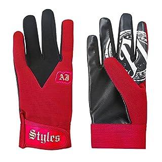 WWE AJ Styles Red Replica Gloves