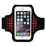 Best Accessory Power Running Armband For Samsung Galaxy S6 S6 Edges - Guzack iPhone 8 Plus Armband, Sports Running Armbands Review