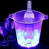 Light Up LED cubo de hielo (azul)