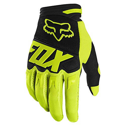 guanti cross Dirtpaw Glove - Race Flo Yellow