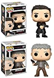 Funko POP! Blade Runner 2049: Officer K + Deckard - Stylized Vinyl Figure Set NEW