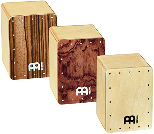 Meinl Percussion SH50-SET Mini Cajon Shaker Set, 50 x 50 x 70 mm, 3 Stück