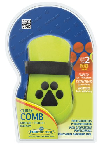 Furminator Curry Comb 1