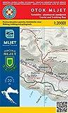 Otok Mljet 1:20.000 Wanderkarte (Kroatien)