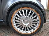 Scuffs by Rimblades FELGENSCHUTZ & STYLING Felgenschutzringe Felgenringe Felgenstyling Rim Protector (orange)