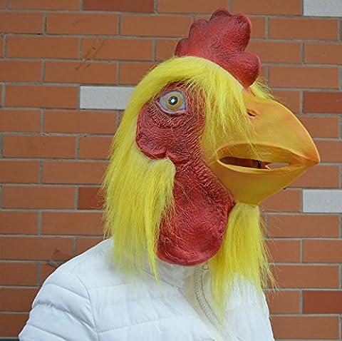 Masques Drôles De Halloween Adultes - GAOMEIMasques d'animaux tête pour Halloween avec une