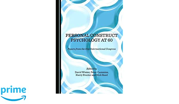 personal construct psychology in clinical practice winter david