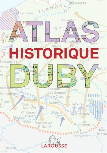 Atlas historique Duby par collectif - Duby