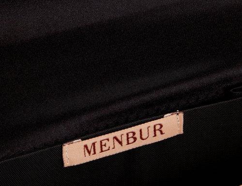Menbur Wedding  Baby, pochettes femme Noir - Schwarz (Schwarz 01)