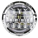 ZHUOYUE 2Stücke 75Watt 7Zoll Daymaker ProjektorDefender LedScheinwerfer Für HalloAbblendlicht DRL Für JeepWrangler TJ JKHummer …