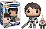 Funko- Anime Figurines Pop Vinyle: Trollhunters: Jim Armored, 13693