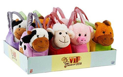 DSO ODS pel4925-My VIP Animales de la Granja de Bolso, Color Surtidos