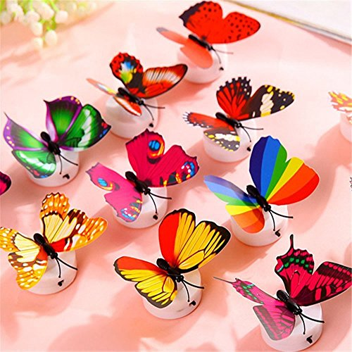 Mariposas luces intermitentes 3d  04
