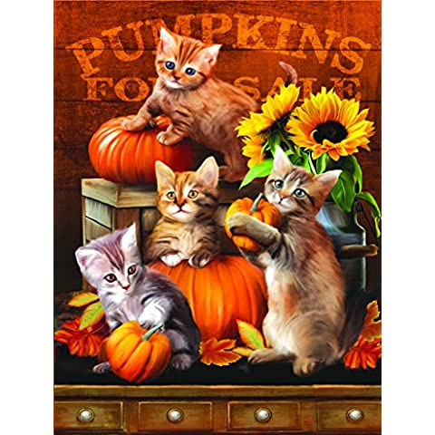 Autumn Kitties - 300 Piece Jigsaw Puzzle By SunsOut by SunsOut