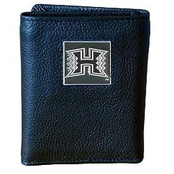 Hawaii Warriors Genuine Leather Tri-fold Wallet