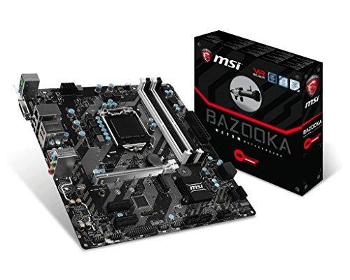 msi-intel-h270-m-bazooka-7th-6th-gen-usb2-scheda-madre-nero-intel-core-i3-i5-i7-processore-lga-1151-