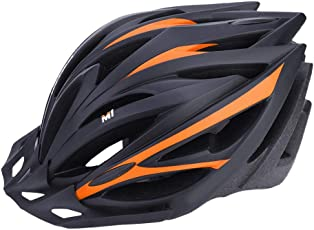 Bike Helmet, 4 Colors Holes Ventilation and Light Weight Adjustable Bicycle Safety Helmet for Bike Riding Safety