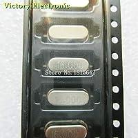 10pcs / lot SMD cristal oscilador cristal resonador 16MHz 16M 16,000MHz 16,000M 49S HC-49S smd Cristal pasivo